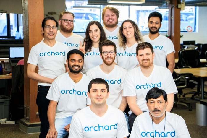 Orchard Team Photo